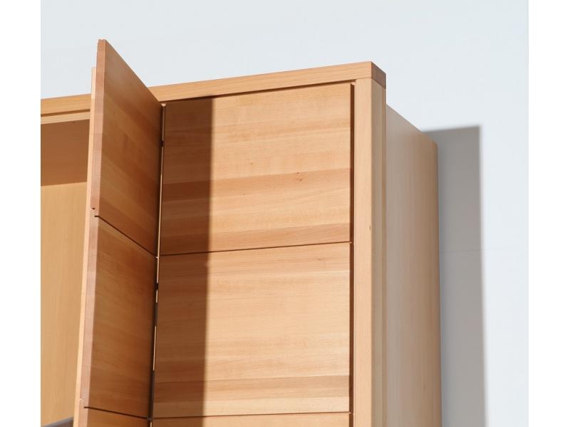 Kleiderschrank Variationsbeispiel 2 Turig 100 Cm X 205 Cm Massi
