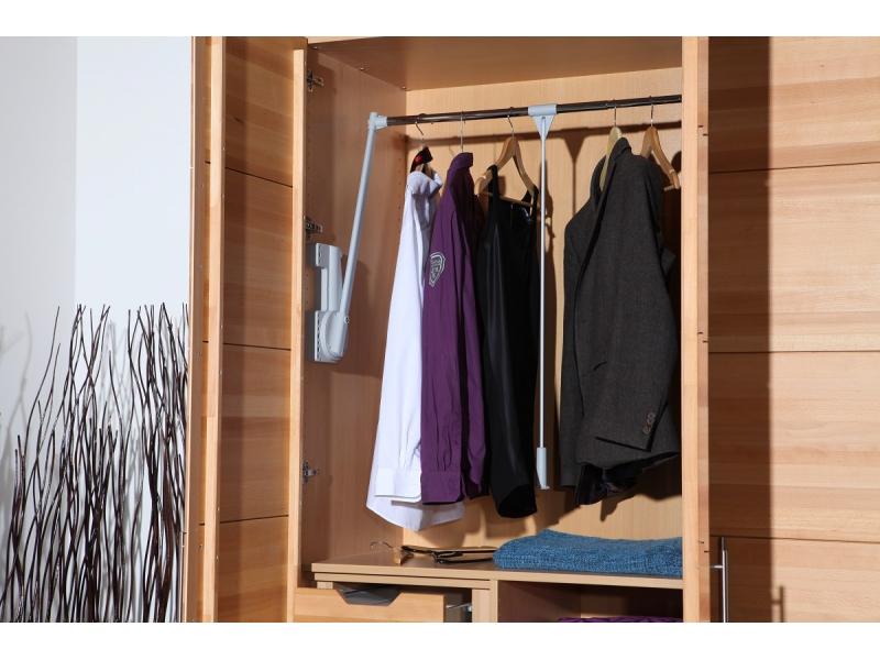 Kleiderschrank Variationsbeispiel 3 türig 150 cm x 200 cm ( Bild