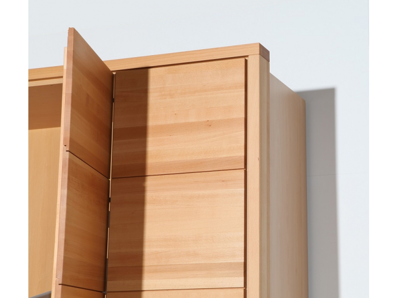 kleiderschrank variationsbeispiel eckschrank ca. 350 cm x 243 cm, mas,