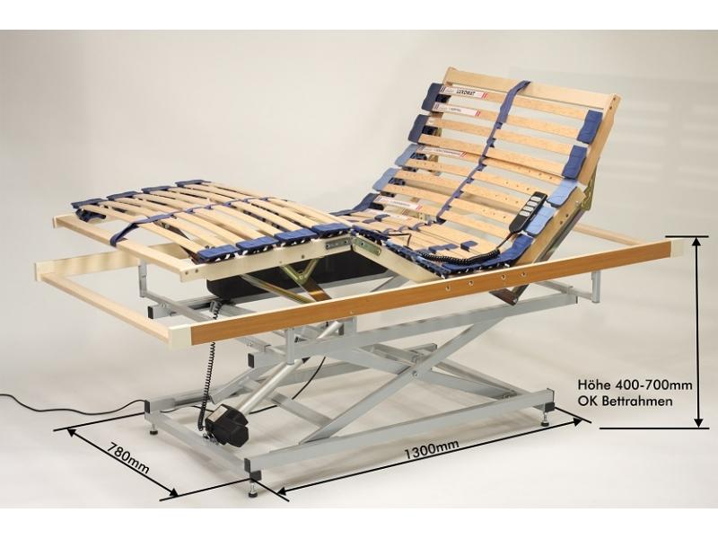 lattenrost mw elektro comforthilfe inkl luxo flex elektro massivho. Black Bedroom Furniture Sets. Home Design Ideas