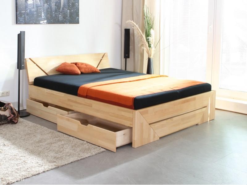 Betten mit Schubladen, alle Größen - Massivholzbetten Werksverkauf
