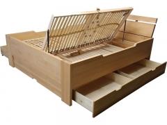 Stauraumbetten, alle Größen - Massivholzbetten Werksverkauf